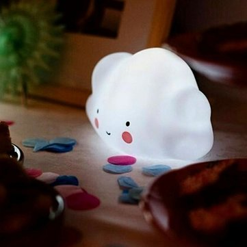 Creative Novelty Kids Bedroom Cloud-Shaped Night Light For Room Decor