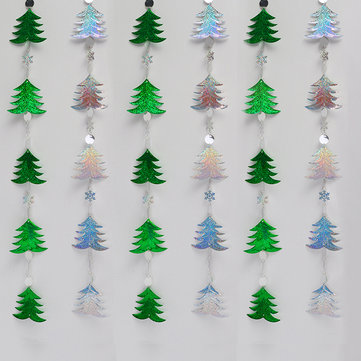 Glittering Sequins Curtains Christmas Pendant Drops