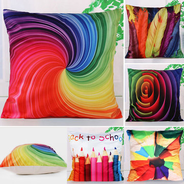 Abstract Art Style Pillow Case Home Bedroom Decor Cushion Cover