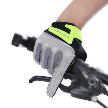Women Men Outdoor Riding Full Fingers Gloves Breathable Sweat Sports Fitness Gloves SKU725597