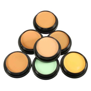 7 Colors Imagic Makeup Full Coverage Foundation Cream Face Concealer Mineral Cosmetics