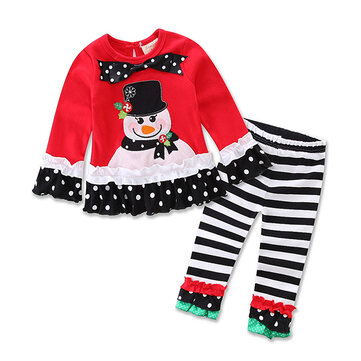 Christmas Girls Clothing Sets SKU784669