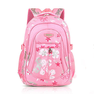 Buy Children Backpack Canvas School Bag Flower Print Rucksack Boy Girl Tour Bags