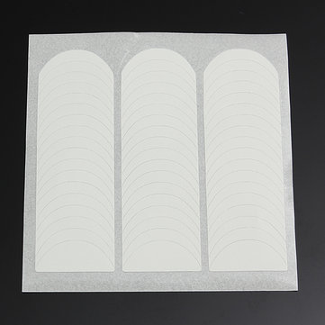 Buy 1 Sheet French White Smile Nail Art Stickers Striping Line Guide Tips