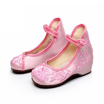 Buy Girls China Style Embroidered Shoes Causal Dancing Flat