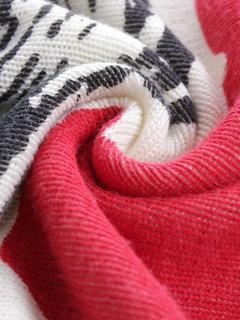 Повседневная Женщины пуловер Печатный Сыпучие длинным рукавом вязать свитер платье