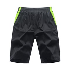 Summer Men Knee-length Plus Size Wicking Sports Cotton Breathable Loose Running Basketball Short