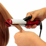 110-240V 2 In 1 Professional Hair Curling Curler Iron Straightener Hairdressing Salon Tools