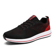 Big Size Men Sport Shoes Round Toe Lace Up Gym Outdoor Running Jogging