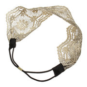 Retro Lace Headband Wide Headwraps Hair Accessories Womens Girls