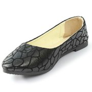 Fashion Stone Pattern Crack Leisure Flat  Slip On Loafers