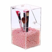 Acrylic Clear Storage Container Dustproof Makeup Case Box Cosmetic Brush Holder Organizer