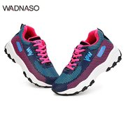 WADNASO Color Matching Lace Up Outdoor Cotton Sport Shoes