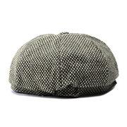 Мужчины Женщины Теплая зима восьмиугольная Берет Cap Открытый Newsboy Остроконечные Hat