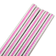100/180 Grit Nail Art Sanding File With One Side C-Curved Manicure Pedicure Tool