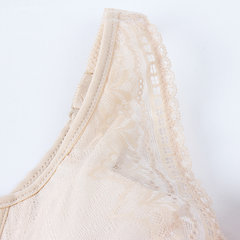 Sexy Thin Embroidered Lace Bras Push Up Gather Underwire Bras