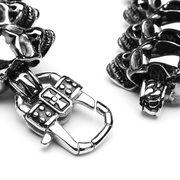 316L Stainless Steel Gothic Skull Bracelet