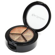 3 Colors Smoky Matte Eye Shadow Palette Cosmetic With Mirror Brush