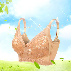Women Sexy Ultrathin Wireless Embroidered Bras Breathable Gather Soft Bras