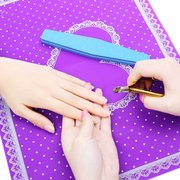 4 Colors Manicure Hand Holder Nail Art Cushion Pillow Acrylic Rubber Arm Rest Pad Tool