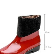 Rubber WaterProof Shoes Ankle Rain Boots