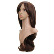 Long Wavy Curly Hair Full Wigs High-temperature Fiber Party Women 3 Colors