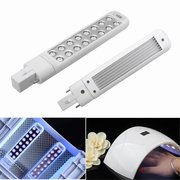 9W Replaceable LED Lamp Bulb For Manicure Nail Gel Polish Dryer