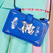Women Stylish Printing Wallet 6.5 inch Shoulder Bags Phone Bag For iPhone Samsung Xiaomi Huawei Sony