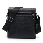 Business Vintage Shoulder Bags Casual PU Leather Crossbody Bags