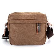 Men Canvas Vintage Casaul Crossbody Bag Retro Sport Outdoor Shoulder Bags