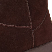 WADNASO Winter Suede Comfortable Ankle Snow Boots