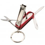 EDC Multifunction Nail Clippers Scissors Blade Stainless Steel Foldable Tool