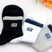 Outdoor Cotton Antibacterial Sweat-Absorbent Deodorant Middle Tube Sport Thin Socks For Men