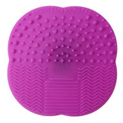 Silicone Makeup Brush Cleaner Washing Scrubber Board Cosmetic Cleaning Mat Pad 7 Colors