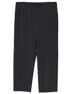 OL Solid Pleated Loose Women Wide Leg Pant