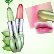 Aloe Vera Moisturizing Jelly Lipstick Waterproof Temperature Color-changing Lip Care