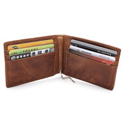 Vintage Soft PU Leather Wallet