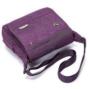 Женщины Мужчины Нейлон Легкий Multi-карман сумки на ремне Crossbody сумки