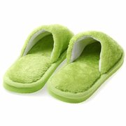 Warm For Woman Home House Floor Soft Plush Slippers