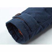 Зимний Открытый сгущает Теплый вскользь отстегивающимся капюшоном вниз куртки для мужчин