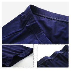 Casual Breathable Quickly Dry Modal Mid-Rise U Convex Pouch Boxer for Men