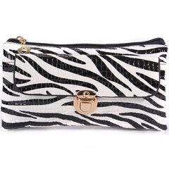 Women Elegant Zebra Leopard Grain Casual Crossbody Bags Ladies Vintage Shoulder Bags