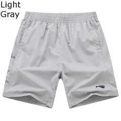 Summer Casual Sport Breathable Knee Length Plus Size Beach Shorts For Men