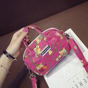 Cartoon Pattern Casual Canvas Handbag Shoulder Bags Crossbody Bags