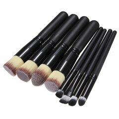 8 шт профессиональный макияж кисти Инструмент Косметические кисти Фонд Тени для век набор