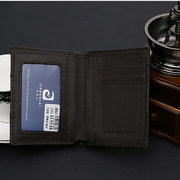 Mens Wallet Genuine Leather Cowhide Leather Wallet Purse