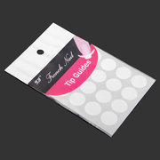 5Pcs French Manicure Round Edge Tip Guides Nail Art Sticker