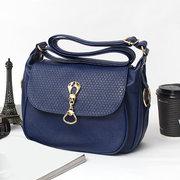 Women Elegant Casual PU Leather Metal Decoration Crossbody Bag Shoulder Bags