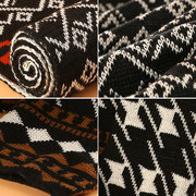 Mixed Colors Imitation Cashmere Men's Scarf  Not Wrinkle And Pilling Twill Jacquard Collars