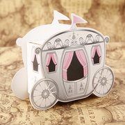 Wedding Party Candy Box Cute Enchanted Carriage Favor Boxes